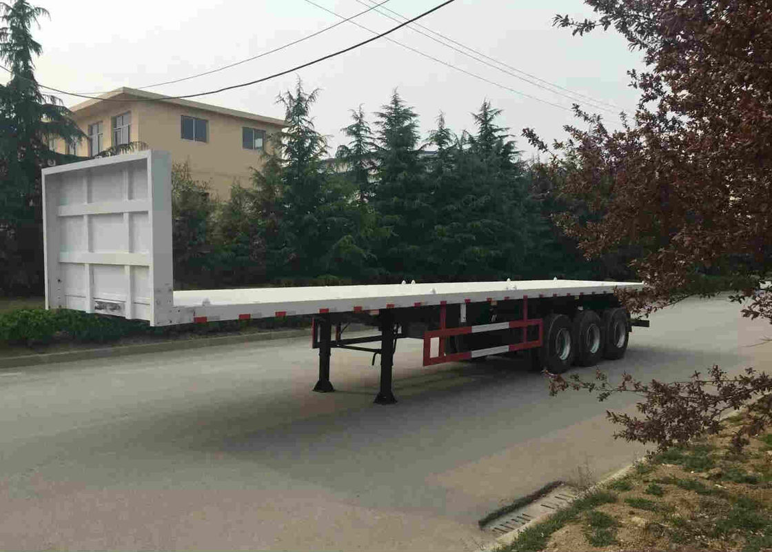 Multi Function Container Trailer Truck 40 Feets Moveable Side Wall Semi Trailer